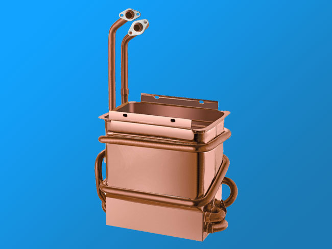PH-10L anaerobic copper heat exchanger